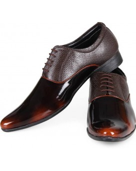 BURNISHED BLACK SHOES