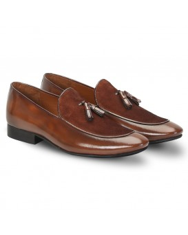 Brown Leather TOE Shoes