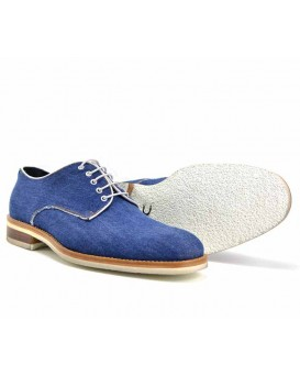 Denim Mens Derby Shoes