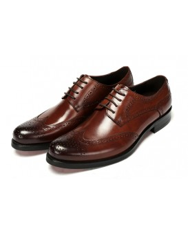 Men Shoes in Dark Tan