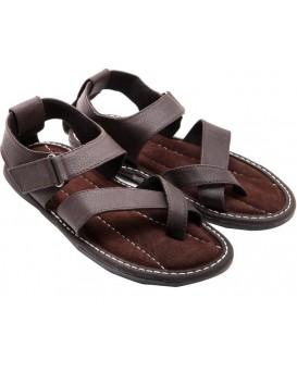Men Brown Sandals